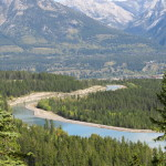Pohled na Bow River