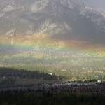 Duha nad Canmore